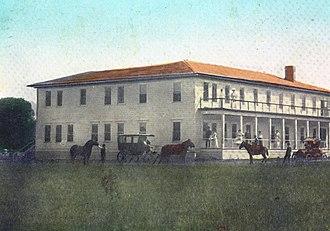 Haines, Oregon - The Radium Springs Sanitarium near Haines, in 1910
