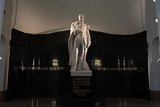 Rafael Urdaneta - Monument to Rafael Urdaneta in the National Pantheon of Venezuela