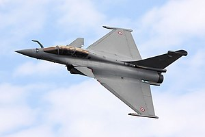 A Dassault Rafale of the French Air Force seen at RIAT in 2009