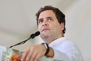 Rahul Gandhi Indian politician