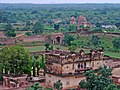 Rai Praveen Mahal (in foreground) seen amidst the lush landscape of Orchha.jpg