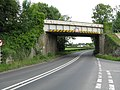 Railway Overbridge, A465 - geograph.org.uk - 1366911.jpg