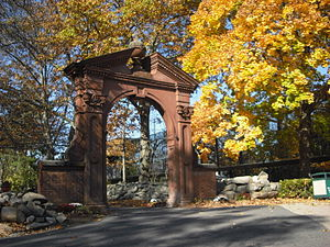 Mahwah, New Jersey - Ramapo College arch