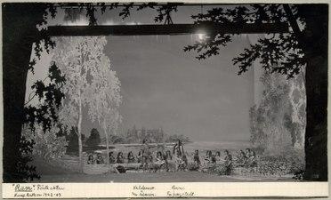 Ran, Kungliga teatern 1903. Föreställningsbild - SMV - H14 025.tif