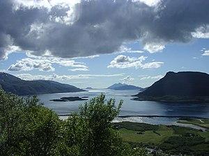 Ranfjord - Image: Ranfjorden utløp
