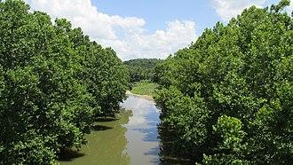 Rattlesnake Creek (Ohio) - Image: Rattlesnake Creek 1