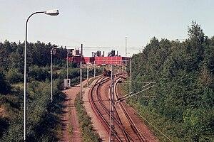 Rautaruukki - Rautaruukki steel factory in Raahe Jul2009 001