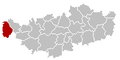Rebecq Brabant-Wallon Belgium Map.png