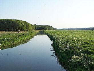 Cammin, Rostock - Image: Recknitz bei Cammin