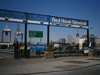Red Hook Container Terminal - Image: Red Hook Terminalentrance