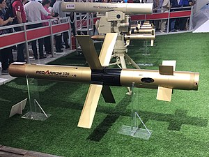Red Arrow 10 Anti-tank missile.jpg
