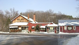 Dayton, Waupaca County, Wisconsin - Image: Red Mill, Little Hope
