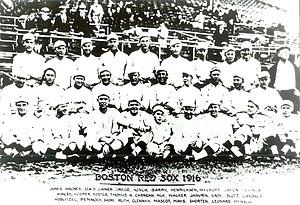 Olaf Henriksen - Image: Red Sox 1916