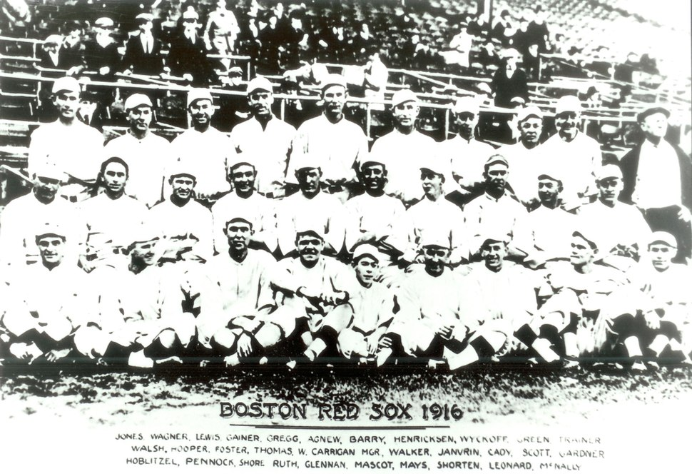 Red Sox 1916