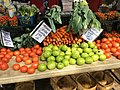 Red and Green Tomatoes at a Farmers Market - 49898121392.jpg