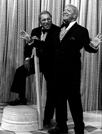 Don Bexley - Bexley as Bubba with Redd Foxx on Sanford and Son, 1976.