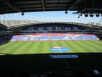 Bolton Wanderers F.C. - The University of Bolton Stadium has been Bolton Wanderers' home since 1997