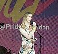 Reece Lyons, poet, London Pride 2019.jpg