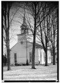 Reformed Church, Middleburgh, Schoharie County, NY HABS NY,48-MIDBU,1-1.tif