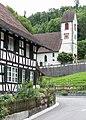Reformierte Kirche St. Andreas und Riegelhaus in Hüttlingen TG.jpg