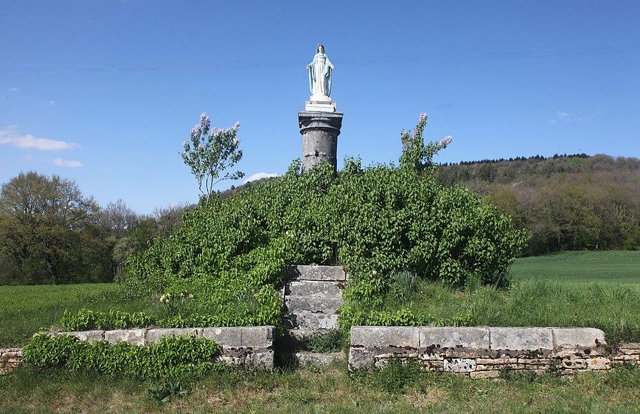 Vierge à Refranche (Doubs).