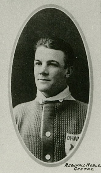 Reg Noble - Noble with the Toronto Arenas.