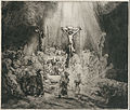 "Rembrandt Harmensz. van Rijn - Christ Crucified Between the Two Thieves (""The Three Crosses"") - Google Art Project.jpg"