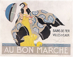 René Vincent - Reproduction of a poster by René Vincent