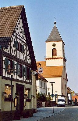 Renchens Weinbrenner-Kirche