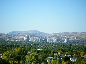 Reno, Nevada - Reno in October 2008