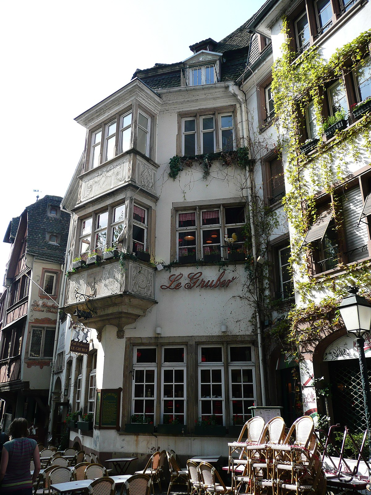 Maison au 11 rue du maroquin strasbourg wikip dia for Rue du miroir strasbourg