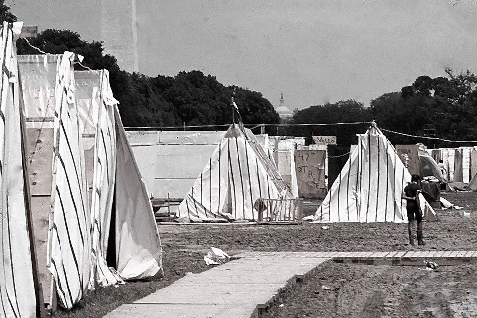 Resurrection City Washington D.C. 1968