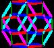 Rhombic icosahedron 5-color-paralleledges.png