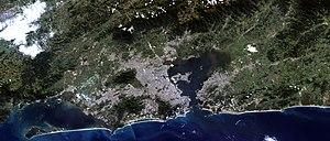 Rio de Janeiro, satellite image, LandSat-5, 20...