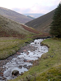 River Breamish at Low Bleakhope - geograph.org.uk - 1113939