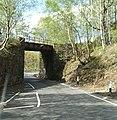 Road narrows at Borrodale Bridge - geograph.org.uk - 1325451.jpg