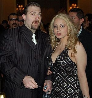 Rob Zicari - Rob Zicari and his wife Janet Romano in 2006