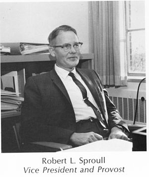 Robert Sproull - Image: Robert L Sproul 1970