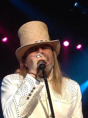 Robin Zander - Zander performing live at Ruth Eckerd Hall, Clearwater, FL – January 31, 2014