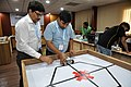 Robot Testing Session - Workshop on Organising Indian and World Robot Olympiad - NCSM - Kolkata 2016-03-07 2301.JPG