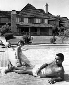 Rod and Carol Serling at home 1959