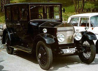 Rolls-Royce Twenty - Image: Rolls Royce 20 HP Landaulette 1925