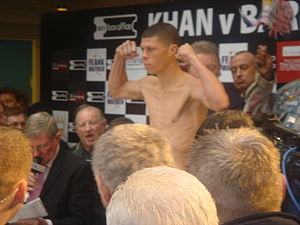 Román Martínez (boxer) - Martínez in 2008