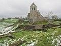 Roman Ruins by Church - panoramio.jpg