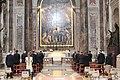 Rome Andrzej Duda Vatican City visit Saint Peter's Basilica 2020 P04.jpg
