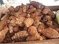 "Root vegetables ""Malanga"" at Cuban street market.jpg"