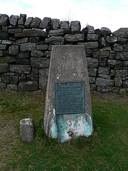 Ros Castle Trig Point - geograph.org.uk - 624323