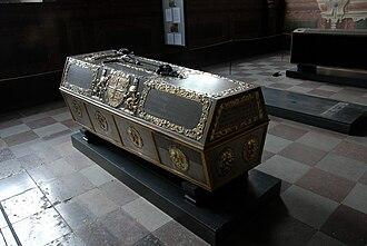 Christian, Prince-Elect of Denmark - Prince Christian's sarchophagus.