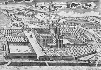 Rot an der Rot Abbey - Rot an der Rot Abbey (engraving from 1736