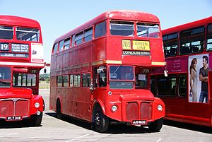 Routemaster RML2463 (JJD 463D), 2010 North Weald bus rally.jpg